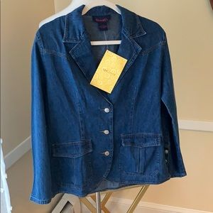NWT Denim & Co. Size Small by QVC